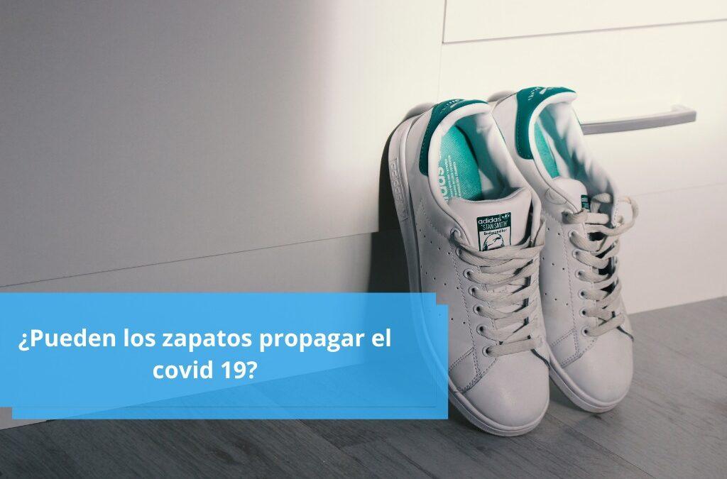 ¿Pueden los zapatos propagar el covid 19?