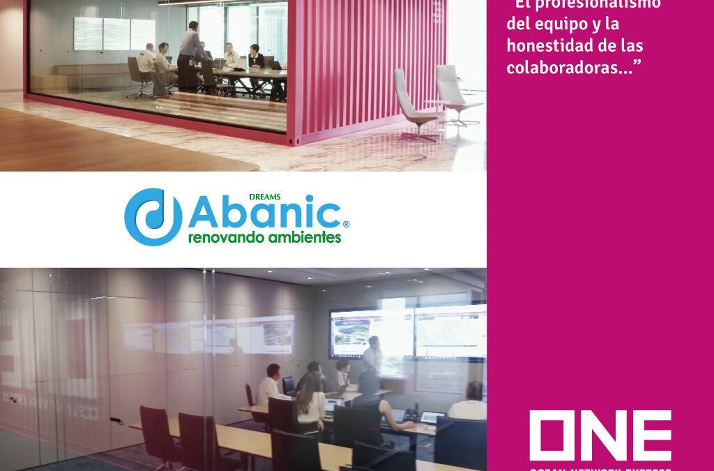 Conoce cómo Abanic ha aportado en las oficinas de ONE